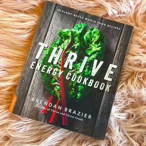 THRIVE ENERGY WELLBEING and HEALTH cookbook